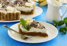Nepečený banánovo-karamelový koláč (banoffee pie)   Recepty.sk