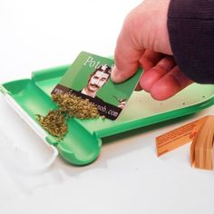 Cool joint rolling tray