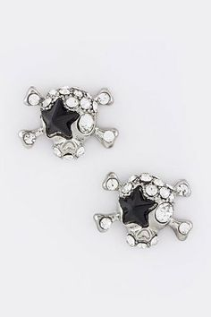 TRENDY FASHION CRYSTAL STAR SKULL EARRINGS BY FASHION DESTINATION   (Black) Fashion Destination,http://www.amazon.com/dp/B00EV4B2QM/ref=cm_sw_r_pi_dp_BTbLsb07G8QY94MN