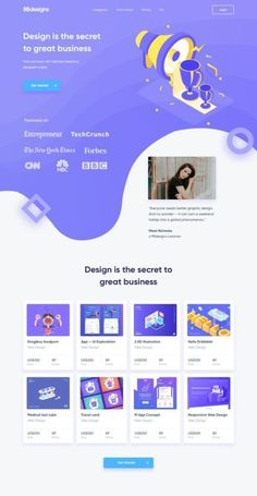 UI Inspiration - Outcrowd by Nicola Baldo - Web Design & Web Development Cool Web Design, Creative Web Design, Web Design Tips, Ux Design, Blog Design, Layout Design, Design Process, Website Layout, Web Layout