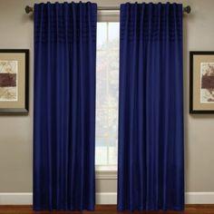 Hailey Pleated Window Curtain Panel