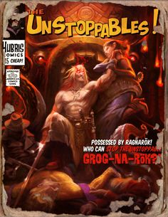 UnStoppables Grognak Book - Fallout 4 by PlanK-69