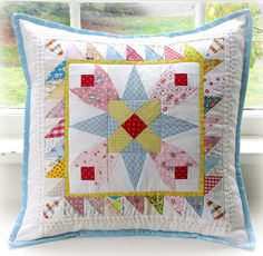 Cute quilted pillow