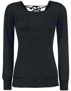 black longsleeve sweater with laced backside <3