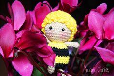Maya the Bee Amigurumi crochet doll by BramaCrochet.deviantart.com on @DeviantArt