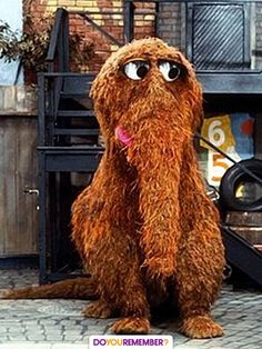 Snuffy! My favorite character on sesame street