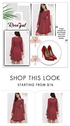 """""""Rosegal33"""" by gold-phoenix ❤ liked on Polyvore featuring vintage"""