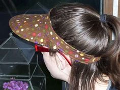 Going to try this visor with some fun modern fabrics.