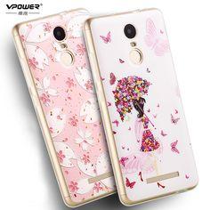 #Xiaomi Redmi Note 3 #case #cover Vpower Silicone 3D Relief #Print tpu soft Case for Xiaomi Redmi note 3 5.5 inch 150mm #aliseller360
