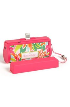 iPhone 5 charger / lilly pulitzer