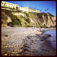 Salt Creek Beach and Ritz Carlton.