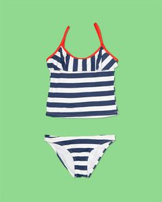 """Tigris Delta"" Tankini Bathing suit for girls"