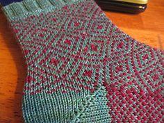 Ravelry: Geometric Socks pattern by Colleen Miller