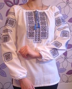 Traditional Ukrainian Embroidered Women's Blouse/Shirt/Dress - Vyshyvanka. All Sizes!!! Custom tailoring or readymade!!! by aCrossUkraine on Etsy https://www.etsy.com/listing/190025989/traditional-ukrainian-embroidered-womens