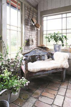 Chic Shabby French Sunroom Greenhouse