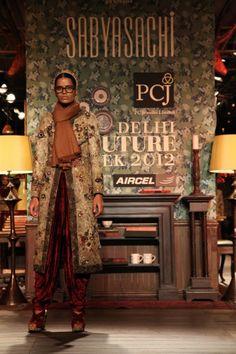 Sabyasachi Delhi Couture Week 2012  #sabyasachi #delhicoutureweek2012 #kurta #embellished #embroidery