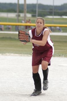 www.livestrong.com/teaching younger softball players  how not to  be afraid of the ball.                     There is no crying in softball!