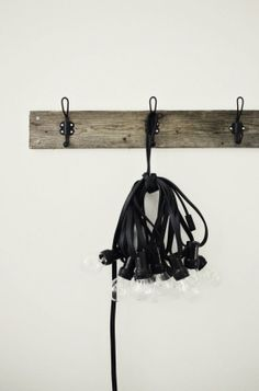 Vosgesparis lamps, lights, hat rack, coat hooks, bulbs, industri homestyl, diy decor, decor idea, creativ inspir