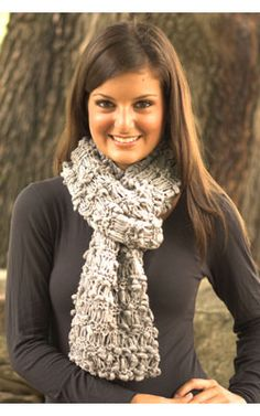 NobleKnits Knitting Blog: Drop Stitch Scarf Free Knitting Pattern