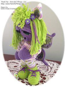 Tassey A Fantirumi (Fantasy Amigurumi) | Fanciful Crochet Things