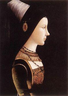 PACHER, Michael  Mary of Burgundy  c. 1490