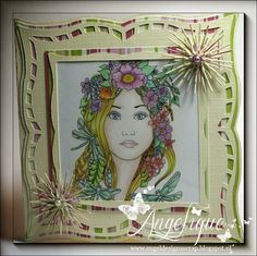 Sweet Pea Stamps - Norma Burnell's Fairy Tangles Midsummer Dragonflies