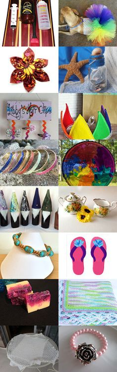 Summer Lovers by Rosabelle Gems on Etsy--Pinned+with+TreasuryPin.com