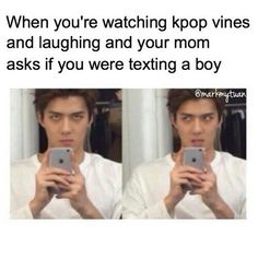 KPOP | Its mainly both parents and when they start gettin out of hand i just walk away