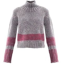 Jil Sander Needle punch stripe m lange sweater Jil Sander