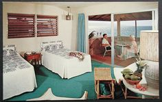 Pictures from the Heyday of Hawaiian Hotel Rooms -- Tiki Central