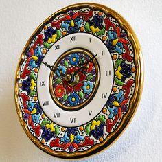 Seville ceramics clock