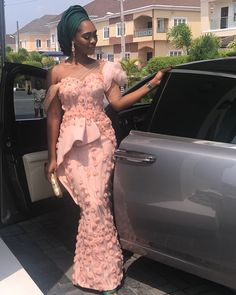 2018 African Lace Styles : Best Collection African StylesLatest Ankara Styles and Aso Ebi Styles 2020 Aso Ebi Lace Styles, African Lace Styles, Latest Aso Ebi Styles, Lace Dress Styles, African Lace Dresses, African Fashion Dresses, Nice Dresses, Ankara Styles, Ghanaian Fashion