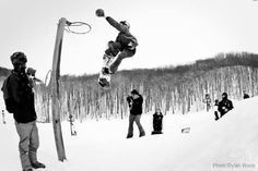 Snowboarding Basketball