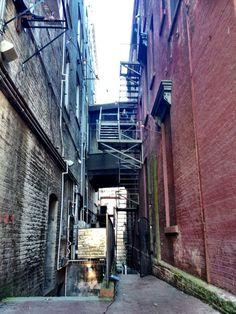 """Alley Way"" by Lori Harris"