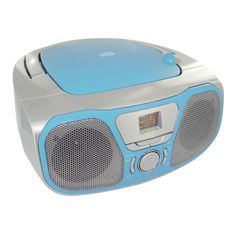 Portable Radio/CD Stereo player (Blue)