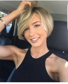 40 Short Summer Haircuts for Women With Fine Hair Short Bob Haircuts Short Summer Haircuts, Bob Haircuts For Women, Short Bob Haircuts, Cute Hairstyles For Short Hair, Hairstyles For Round Faces, Diy Hairstyles, Hairstyle Ideas, Hair Ideas, Flip Hairstyle