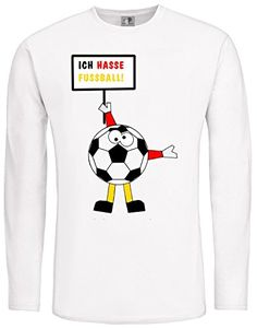 Ich hasse Fußball ; LangarmShirt weiß; Gr. 44/46; S; unis... https://www.amazon.de/dp/B01GEBR4PW/ref=cm_sw_r_pi_dp_1AquxbR9TFTKG