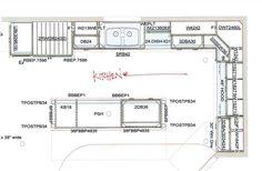 Kitchen Floor Plans Floorplan Bathroom Flooring Renos