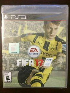 FIFA 17 (Sony PlayStation 3, 2016) PS3 New Sealed #ps4 #gaming #video Play Station 3, Tales From The Borderlands, Fifa 15, English Games, Ea Sports, Call Of Duty Black, Soccer World, Soccer Games, Fifa World Cup