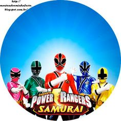 Montando a minha festa: Power Rangers Samurai Samurai Power Rangers, Power Rangers Logo, Power Rangers Ninja Steel, Pawer Rangers, Power Rangers Megaforce, Power Ranger Party, Power Ranger Birthday, Thomas Birthday Parties, 3rd Birthday