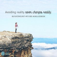 """""""I'd rather deal with my junk drawers than with the junk in my heart. But avoiding reality never changes reality."""" ~ Lysa TerKeurst, Unglued book    #P31OBS #Ungluedbook"""