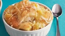 Pineapple-Coconut Bread Pudding