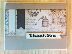 French Provincial Thank You Card by Cindysnoopy on Etsy, $3.50