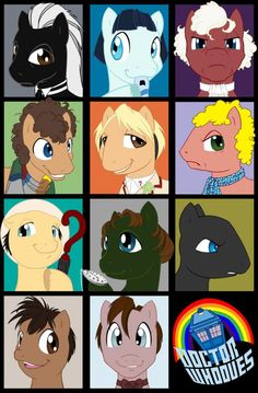 Doctor Whooves Regenerations