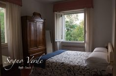 Twin/double room with lovely country furniture and extra-comfy bed.