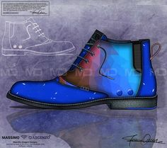 'MD' Beautiful Drawings from Massimo D'ascenzo.  Mumit - Futurist print on contemporary Men's Footwear Fashion Shoes.  Instagram@massimodascenzo  www.massimod.com  #luxury#shoes#handbags#love#fashionAddict#luxuryDesigns.  https://www.facebook.com/pages/ Massimo-Dascenzo-Luxury-Jewellery-Handbags/485052561622939?ref=hl