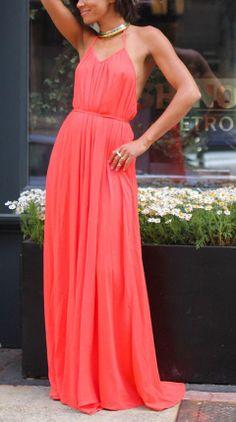 Vibrant Maxi Dress