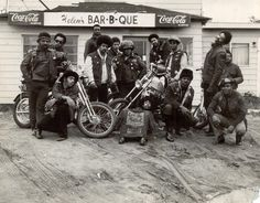 The East Bay Dragons - the first black bikers club. Oakland California 1960s. http://ift.tt/2la0hRp