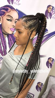43 Cool Blonde Box Braids Hairstyles to Try - Hairstyles Trends Short Box Braids, Blonde Box Braids, Black Girl Braids, Braids For Black Hair, Girls Braids, Braided Ponytail Hairstyles, My Hairstyle, Box Braids Hairstyles, Braided Ponytail Black Hair