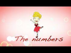 Numbers 1 to 10 in english. Los números en ingles del 1 al 10 para niños